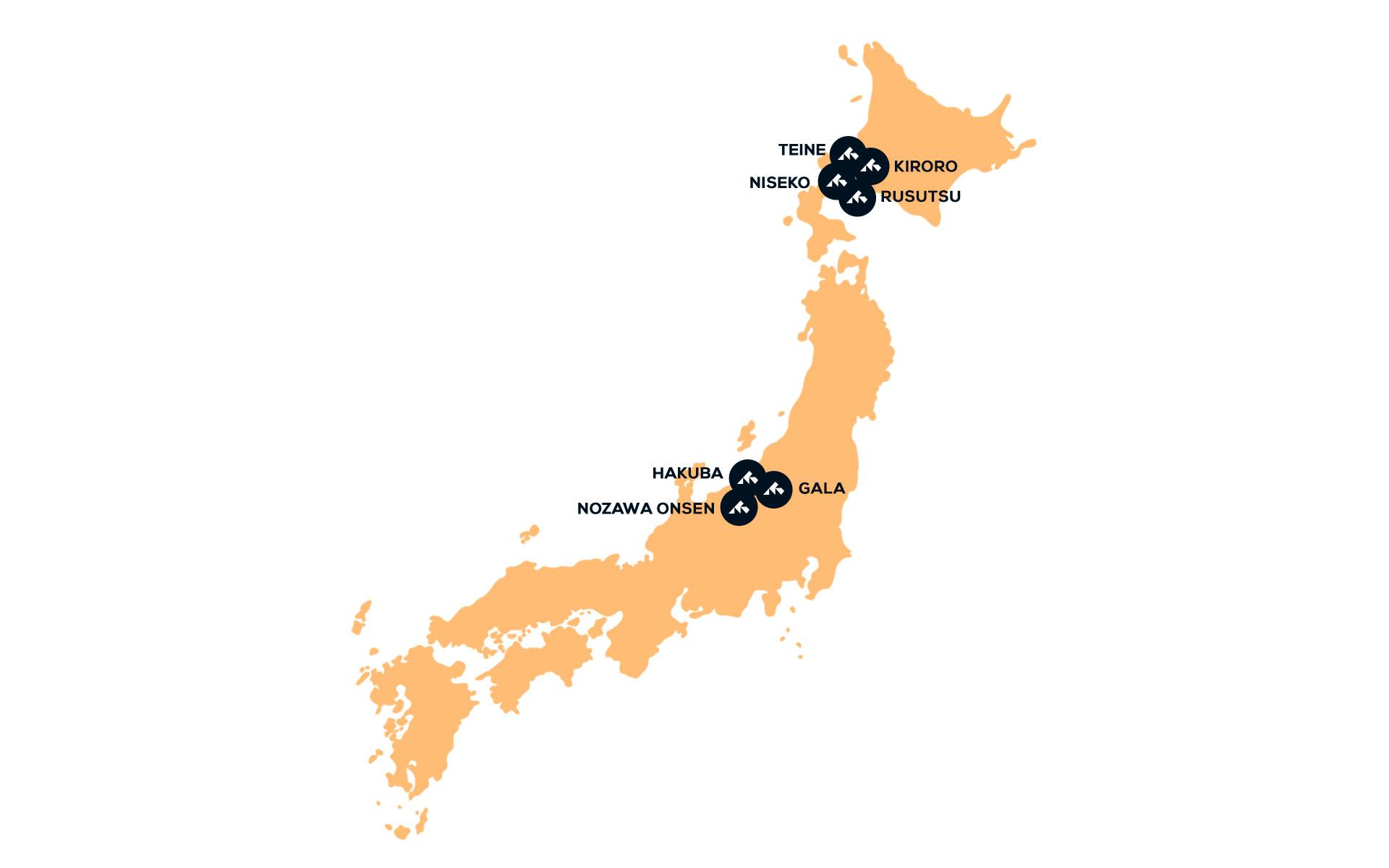 Japan karta